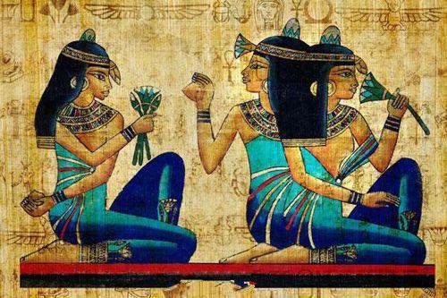 埃及涂着香草油去朝圣
